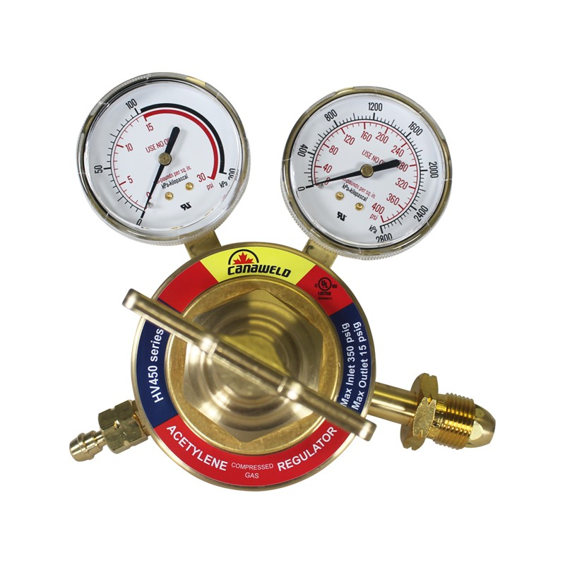UL-Approved HV450 Series, Single Stage For Acetylene