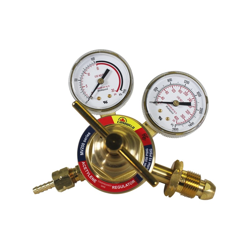 UL-Approved MV250 Series, Single Stage For Acetylene